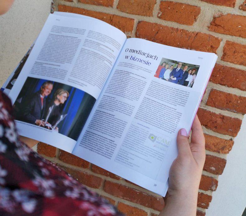 O mediacjach w biznesie – wywiad z Prezesem WCAM